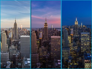 The view from the Top of the Rock at the Rockefeller Centre, New York (c)