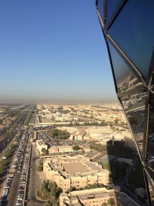 View from Hyatt Capital Gate 2