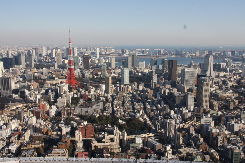 Tokyo, the view from Mori Tower.