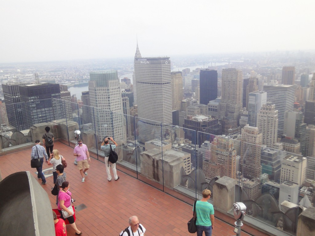 Top of the Rock Observatory Deck, New York.