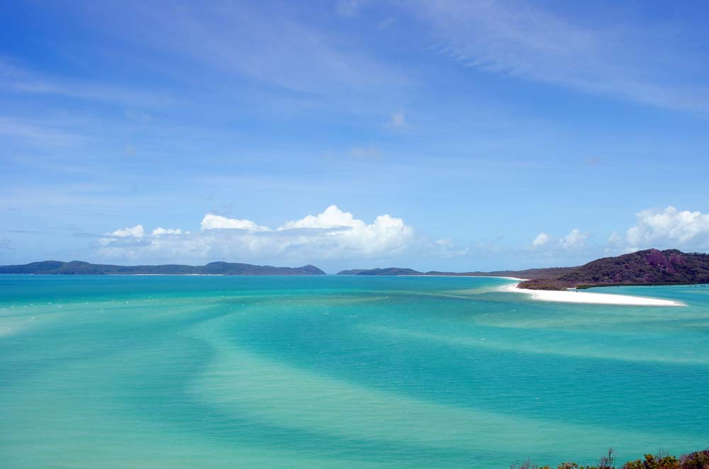 Hill Inlet from Tongue Point headland, Whitsunday Islands