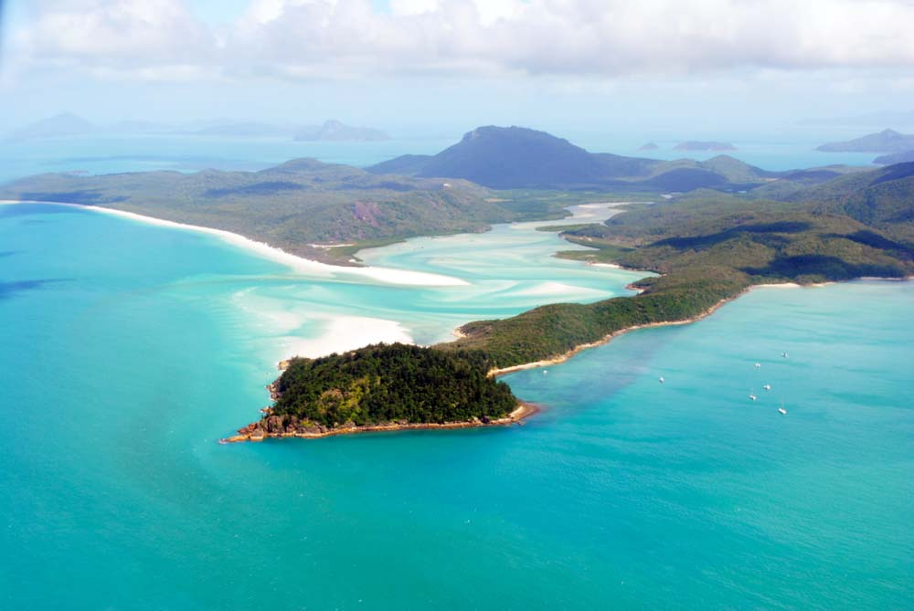 Tongue Point, Whitsunday Island.