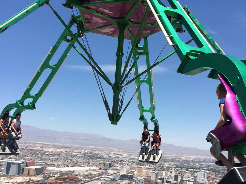 Insanity, Stratosphere Las Vegas.