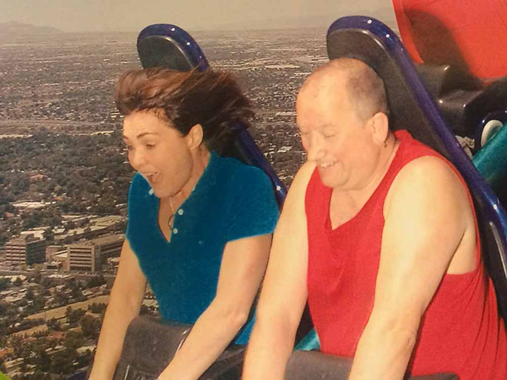 Margaret takes on X-Scream, Stratosphere, Las Vegas.