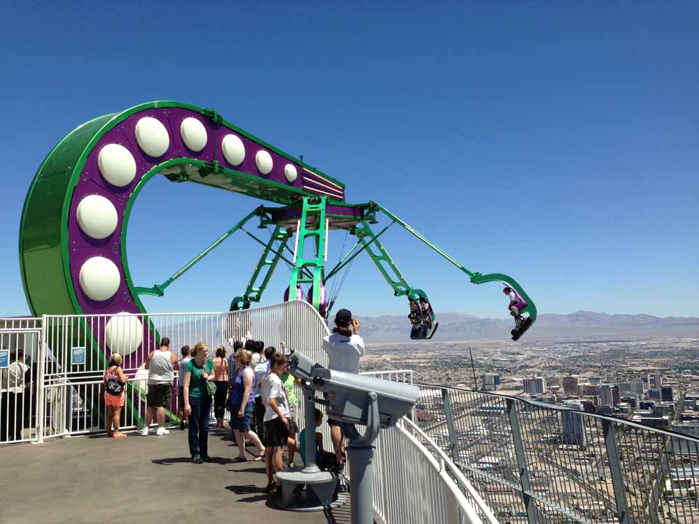 Insanity at Stratosphere Tower, Las Vegas