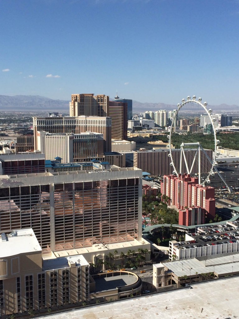 View from Eiffel Tower, Las Vegas