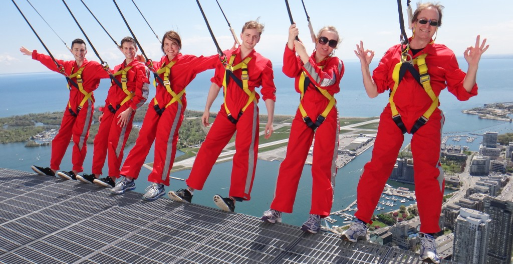 Edgewalk, CN Tower Toronto