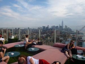 Le Bain rooftop terrace