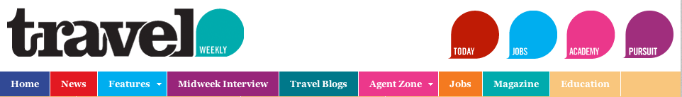 Travel Weekly header