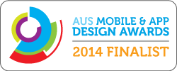 2014 Australian Mobile & App Design Awards Finalist