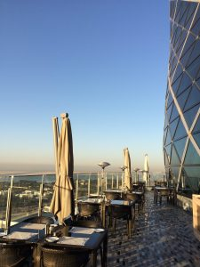 View from Hyatt Capital Gate